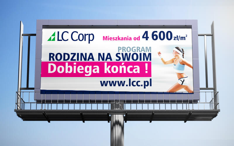 Mock-up – Billboard